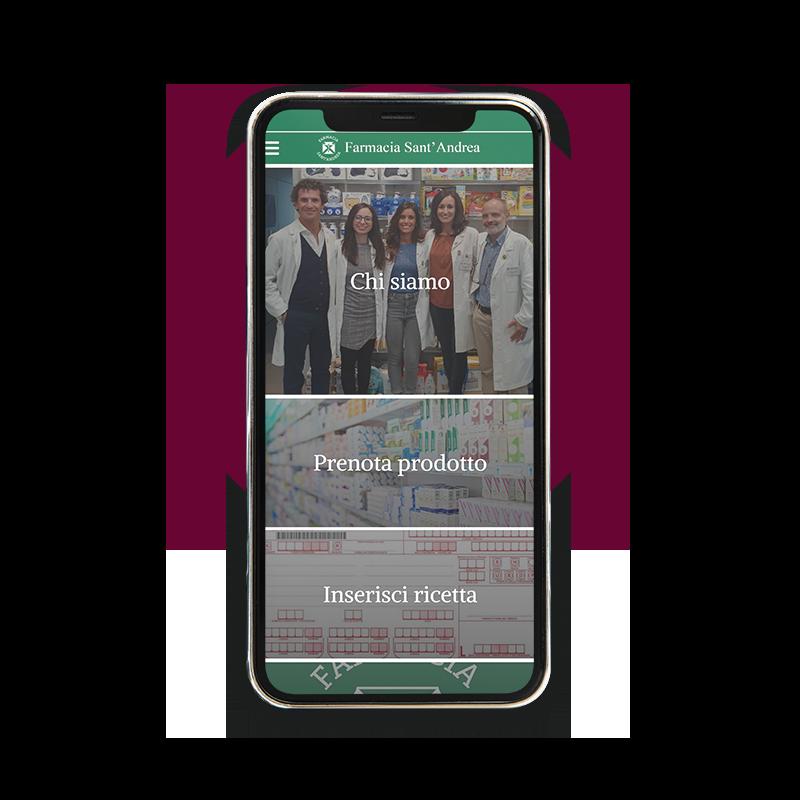 App della Farmacia Sant'Andrea